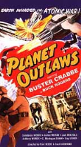 Planet Outlaws 1953 DVD - Buster Crabbe